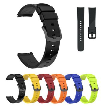 Small Replacement Silicone Band Strap Wristband Bracelet For Ticwatch E 20mm watch band watch strap silicone gear s3 band