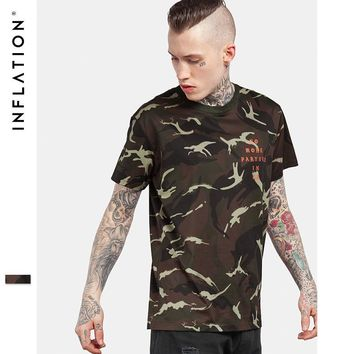 HCXX INFLATION No More Parties in LA Camouflage T-shirt