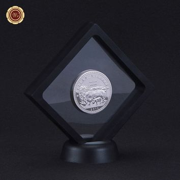 2014 Year Rare Silver Coin African Wildlife 1 Troy Oz. 999 Fine 1000 Kwacha Silver Animal Challenge Coin