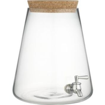 Glass Beverage Dispenser