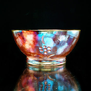Yuzhuki Yarn Bowl Raku Pottery YB13126