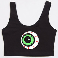Eye Ball Black Bralet - LAST ONE