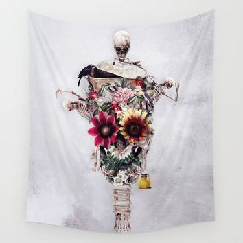 Scarecrow Wall Tapestry by RIZA PEKER