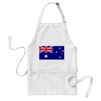 Apron with Flag of Australia