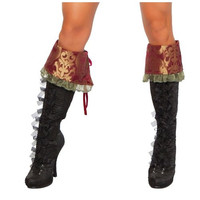 Roma Womens Halloween Party Costume Boot Covers