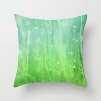 Magic Happens Here Throw Pillow by Beth - Paper Angels Photography