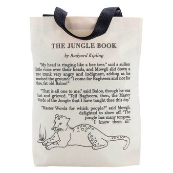 The Jungle Book Storybook Kids Tote
