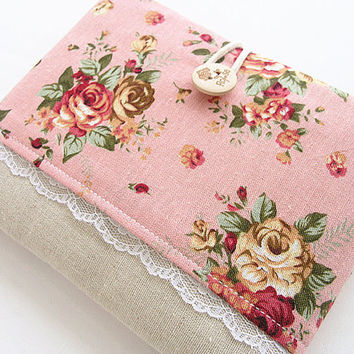 Ipad mini case pocket, Ipad mini cover, Ipad mini sleeve-Rose pink.