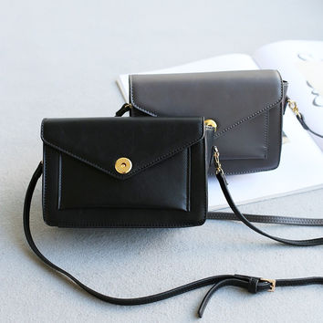 Stylish Casual Korean Vintage Mini One Shoulder Simple Design Bags [4915814084]