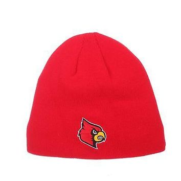 Licensed Louisville Cardinals Official NCAA Edge Adjustable Beanie Knit Sock Hat Zephyr KO_19_1