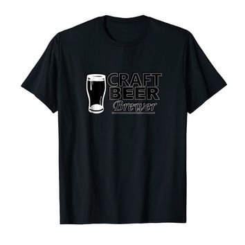 Craft Beer Brewer Lovers of Beer Tee Shirt