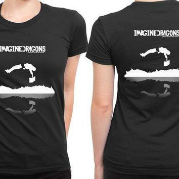 Imagine Dragons Continued Silence 2 Sided Womens T Shirt
