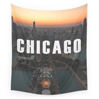 Society6 Chicago / Navy Pier Wall Tapestry