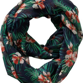 Old Navy Womens Printed Infinity Scarves Size One Size - Tropical twist