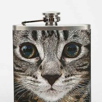 Cat Face Flask- Grey One