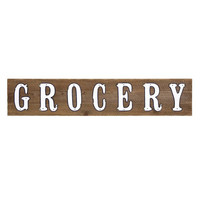 Western Grocery Wall Decor