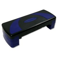 Fitness Republic Aerobic Step - 79CM Black/Blue (Exercise Stepper / Cardio Steps)
