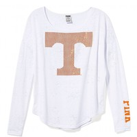 University of Tennessee Bling Long-sleeve Drapey Tee
