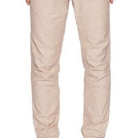 Staple Rally Oxford Jogger in Tan