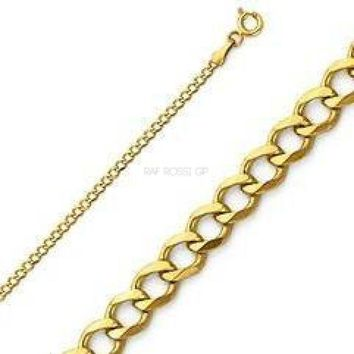 2mm Curb Chain 18kts of Gold Plated