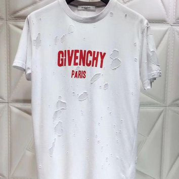 Kalete 100% Authentic 2018ss Givenchy T Shir ¡ï 021