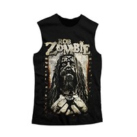 Rob Zombie Men's Icon Sleeveless T-Shirt (Exclusive) (Black)