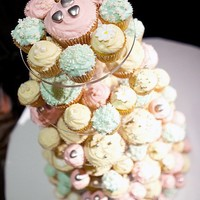 Crumbs and Doilies Wedding Cupcakes