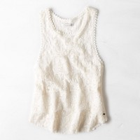 AEO TIERED LACE TANK