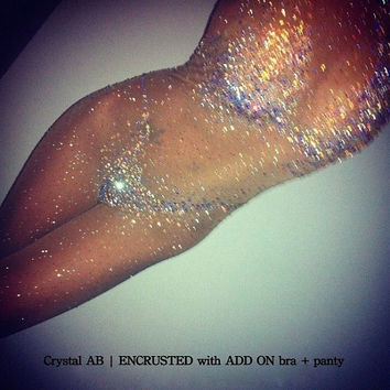 Crystallized Catsuit ADD ONS