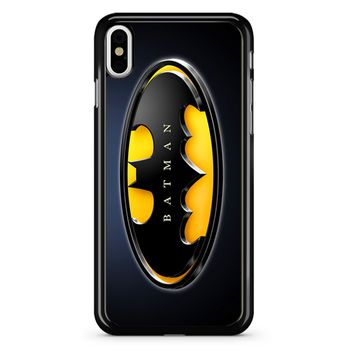 Batman Logo 2 iPhone X Case