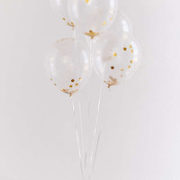 Ginger Ray Gold Confetti Balloon Set | Urban Outfitters