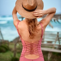 Rose Pink One Piece