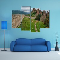 The Belogradchik Rocks Multi Panel Canvas Wall Art