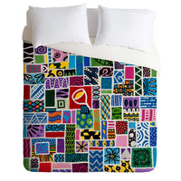 Lara Kulpa Love In Chaos Duvet Cover