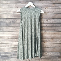 Bay Ribbed Shift Dress