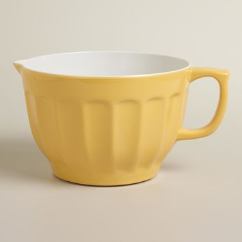 Yellow Melamine Batter Bowl - World Market