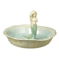 Grasslands Road Shimmering Seas Ceramic Mermaid Jewelry Holder