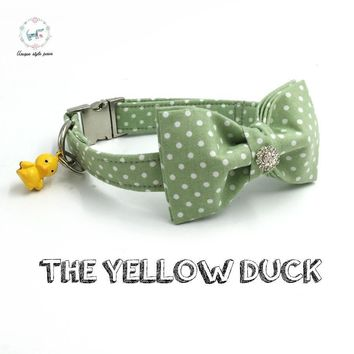 The Yellow Duck Isla Rivera Dog Collar and Leash Set