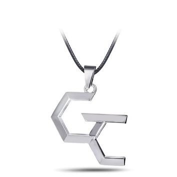 Guilty Crown Silver Metal Anime Necklace