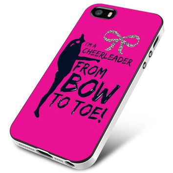bow to toe cheer iPhone 5 | 5S | 5SE Case Planetscase.com