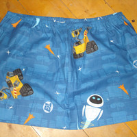 XL Plus Size Wall-E Mini Skirt - High Waisted Ladies Disney Pixar Mini Skirt - OOAK Handmade & Ready to ship