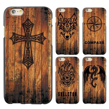 Wood Relief Series iPhone Case