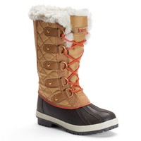 Totes Gracie Women's Quilted Winter Duck Boots