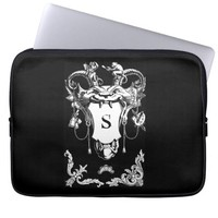 Old world weird mythical creature laptop sleeve