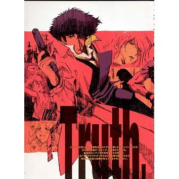 Cowboy Bebop 27x40 Movie Poster (2001)