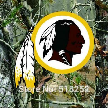 Washington Redskins real tree camo Flag 150X90CM NFL 3x5 FT Banner 100D Polyester Custom flag grommets 6038,free shipping