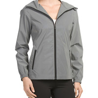 Hooded Reflective Jacket - Jackets & Hoodies - T.J.Maxx