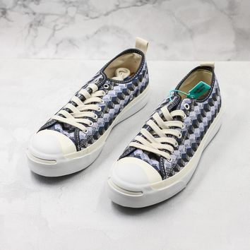 Doe X Converse? Jack Purcell Ox Be Formless Sneakers - Best Deal Online