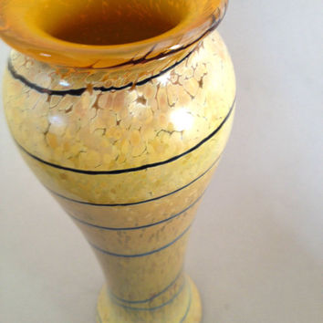 Stunning Tall Handblown Glass Vase For Home Style Decor