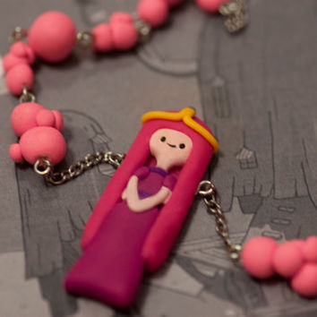Adventure Time Princess Bubble Gum Bubble Necklace